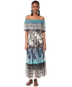 Fuzzi   Платье С Открытыми Плечами
