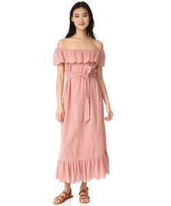 Marysia Swim | Пляжное Платье С Открытыми Плечами