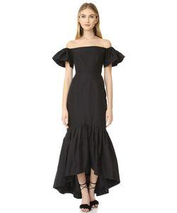 JILL JILL STUART | Платье С Открытыми Плечами И Подолом Русалка