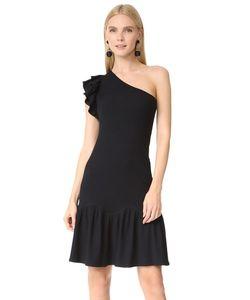 Rebecca Taylor | Платье В Рубчик С Открытым Плечом