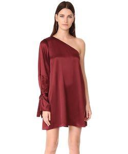 TANYA TAYLOR | Платье Leah Из Атласной Вискозы