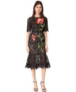 Lela Rose | Платье С Вышивкой