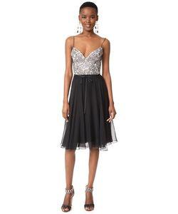Monique Lhuillier   Платье С Нарядным Лифом