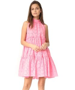 Lisa Marie Fernandez | Многоярусное Мини-Платье С Оборками