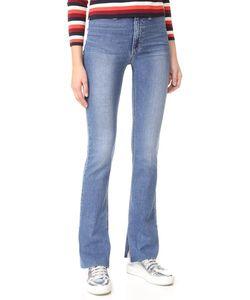 Joe'S Jeans | Слегка Расклешенные Джинсы-Скинни С Высокой Посадкой
