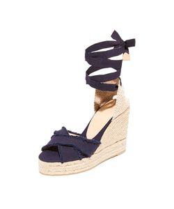 Castaner | Холщовая Обувь На Танкетке С Бахромой