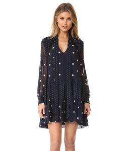 Nicholas | Платье-Рубашка С Пятнистым Принтом