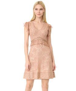 Roberto Cavalli | Платье С Короткими Рукавами