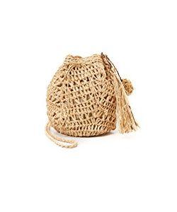 Hat Attack | Raffia Pouchette Bag