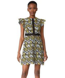 Cynthia Rowley | Кружевное Платье С Рукавами-Крылышками