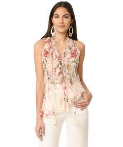Zimmermann | Блуза С Цветочным Рисунком Mercer Cream