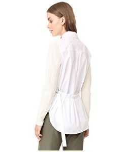 Sea | Sweater Sleeved Shirt