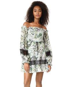 Nicholas | Мини-Платье Evergreen Со Спущенными Плечами