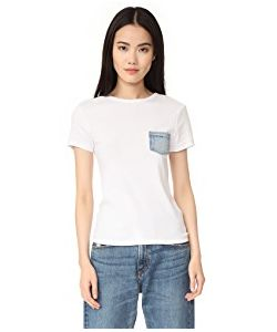Helmut Lang | Denim Pocket Tee