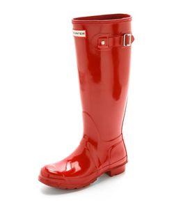 Hunter Boots | Оригинальные Высокие Глянцевые Сапоги