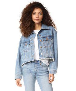 Dl1961 | Обрезанная Джинсовая Куртка Zoe