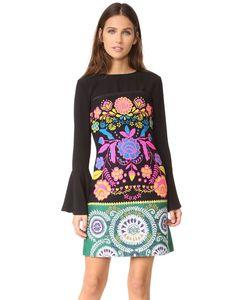 Cynthia Rowley | Платье Без Бретелек Из Твида С Цветочным Рисунком