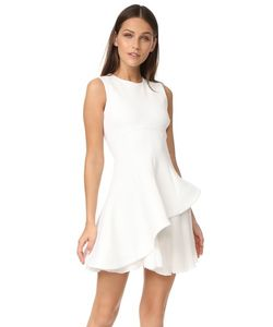 Cushnie Et Ochs | Структурированное Расклешенное Платье