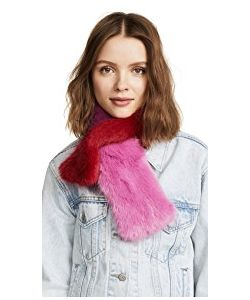 CHARLOTTE SIMONE | Polly Pop Faux Fur Scarf