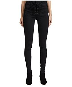 McGuire Denim | Isabeli Lace Up Skinny Jeans