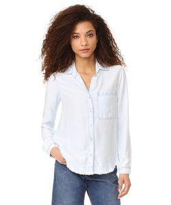Bella Dahl | Блуза На Пуговицах С Закругленной Кокеткой