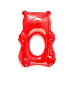 Gift Boutique   Большой Резиновый Надувной Матрас В Форме Медведя Красного Цвета