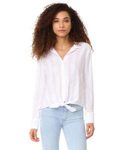 Bella Dahl | Блуза На Пуговицах С Завязками Спереди