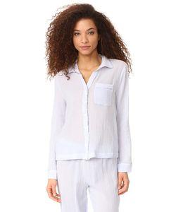 Skin | Пижамная Рубашка С Окантовкой