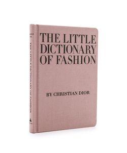 Books with Style | Небольшой Словарь Моды