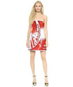 Moschino | Платье Без Бретелек Soda