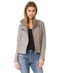 Mackage | Куртка Lisa Из Шагреневой Кожи