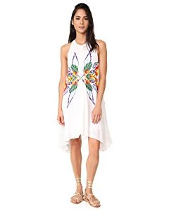 Chloe Oliver | High Neck Embroidered Swing Dress