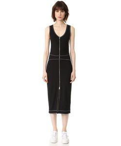 Mcq Alexander Mcqueen | Платье Без Рукавов С Контрастной Отделкой