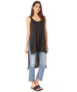 DKNY | Рубашка С Кружевной Отделкой