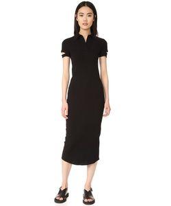 Helmut Lang | Платье-Рубашка В Рубчик