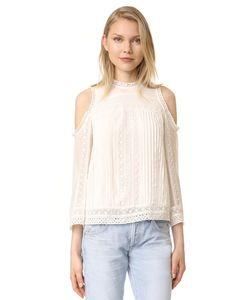 Alice+Olivia | Блуза Ofelia С Открытыми Плечами И Вышивкой