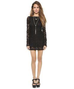 Nightcap x Carisa Rene | Платье Priscilla Из Вязаного Крючком Кружева