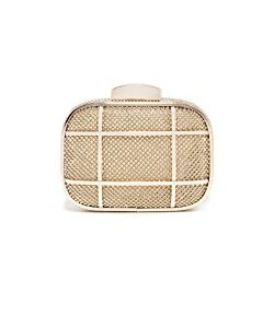 Whiting & Davis | Cage Minaudiere Clutch