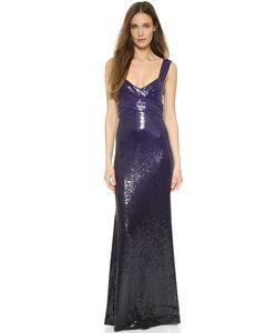 Donna Karan New York | Вечернее Платье С Блестками И Драпировкой