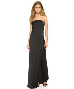 Donna Karan New York   Вечернее Платье Без Бретелек С Брюками