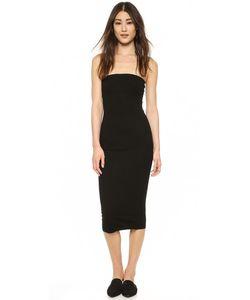 Enza Costa | Платье Без Бретелек Из Ткани В Рубчик