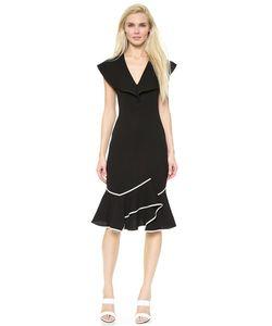 Donna Karan New York | Платье С Развевающейся Отделкой Спереди