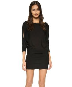 Donna Karan New York | Платье-Свитер С Драпировкой