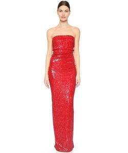 Donna Karan New York | Вечернее Платье Без Бретелек