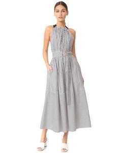 Tibi | Широкое Платье Без Рукавов С Завязками Сзади