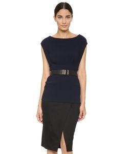 Donna Karan New York | Платье С Короткими Рукавами И Ремешком