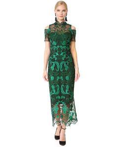 Marchesa Notte | Коктейльное Платье С Открытыми Плечами