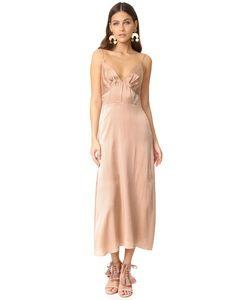 Zimmermann | Платье Из Ворсованного Материала Со Складками