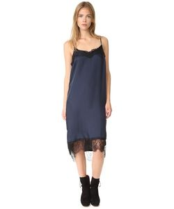 Clu | Платье-Комбинация С Кружевной Отделкой