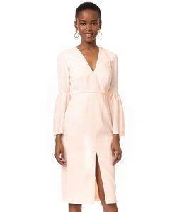 JILL JILL STUART | Платье С Расклешенными Рукавами И Глубоким V-Образным Вырезом